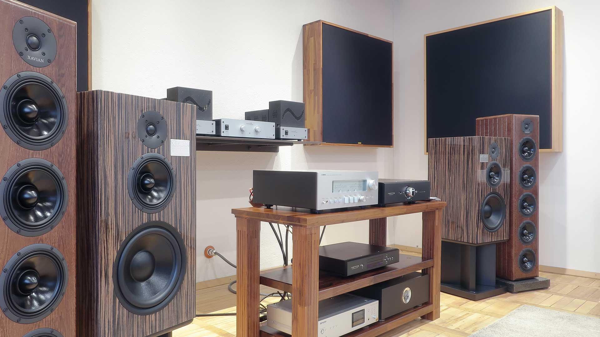Poslechové studio XAVIAN